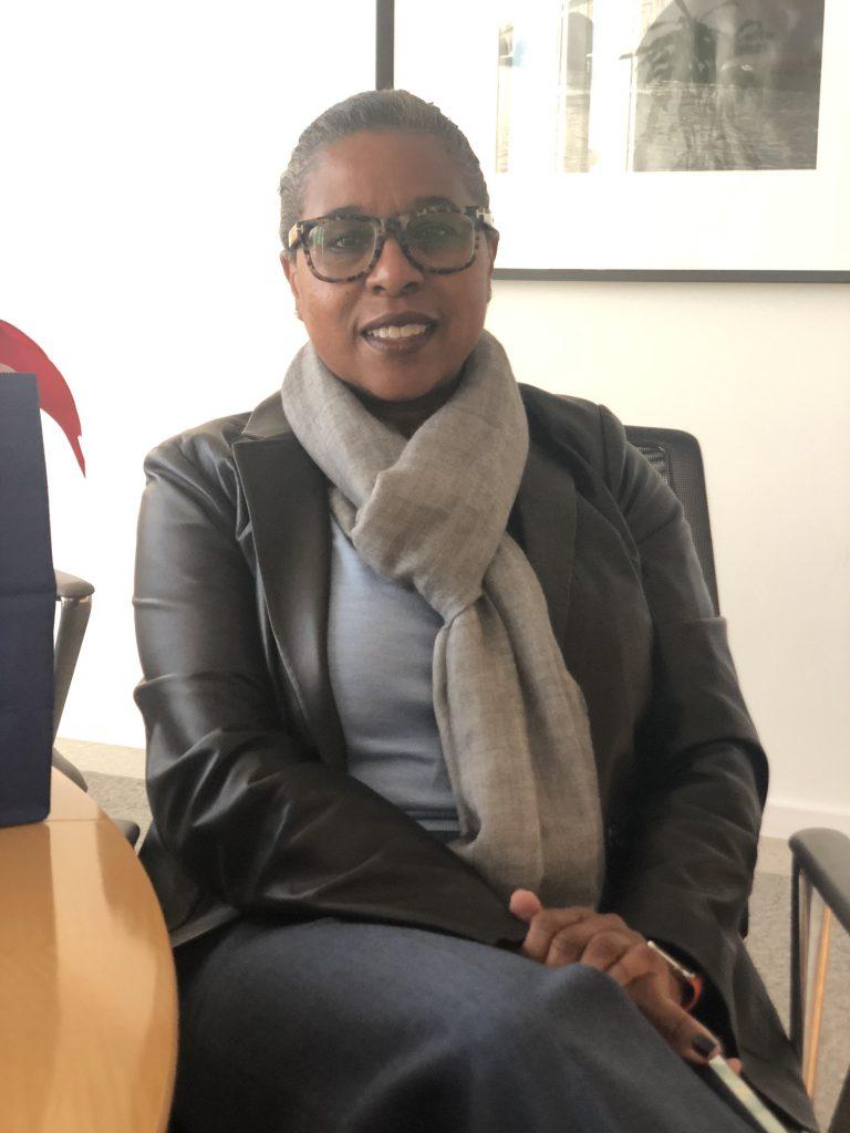 Photo of British Robinson, CEO, Barbara Bush Foundation for Family Literacy