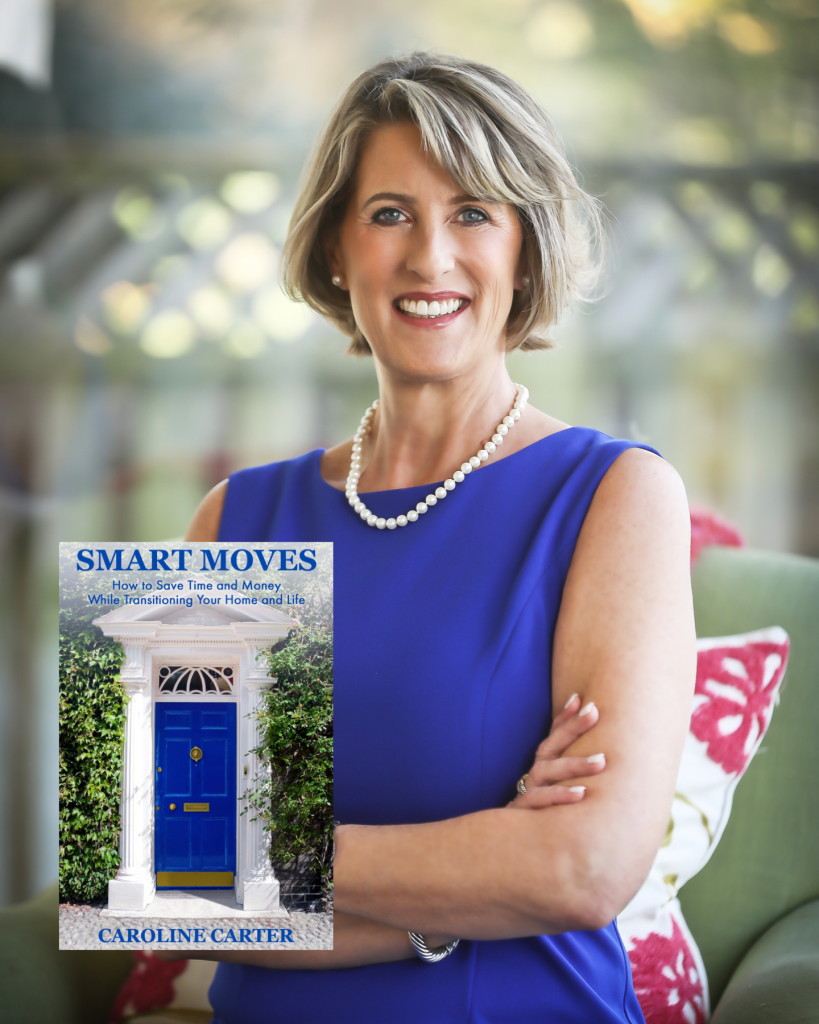 "Photo of Caroline Carter, home transition expert; author ""Smart Moves"""
