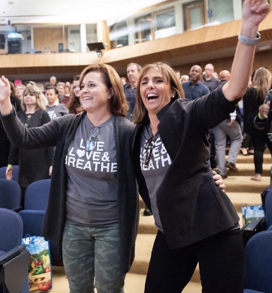 Photo of Doro Bush Koch & Tricia Reilly Koch